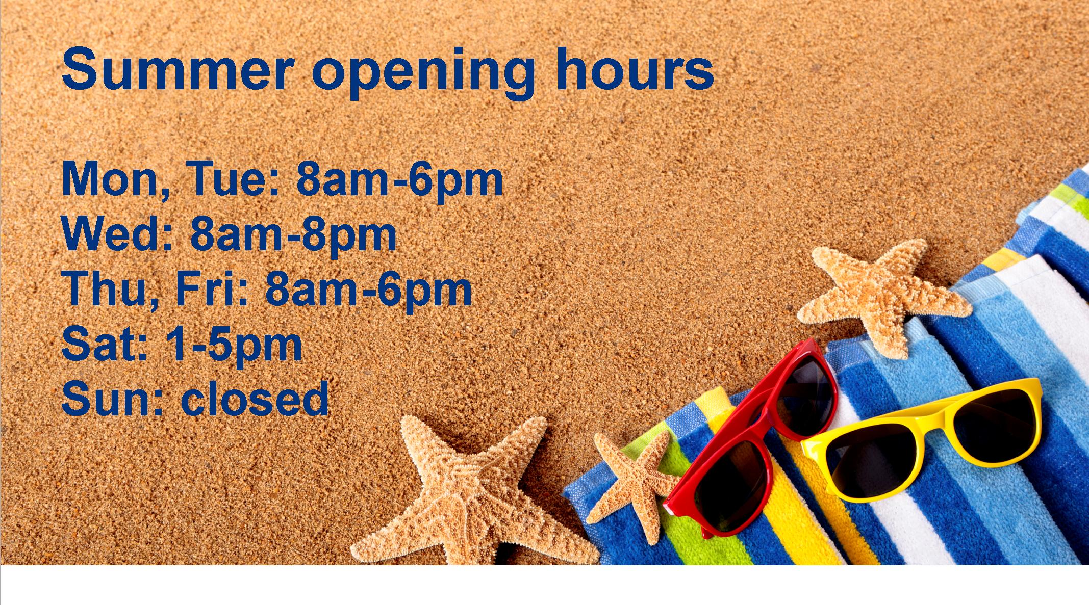 opening hours summer wallpaper - photo #4