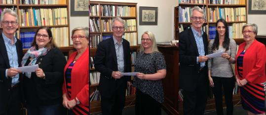 Weir prize winners
