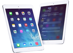 Picture of two iPad Air devices