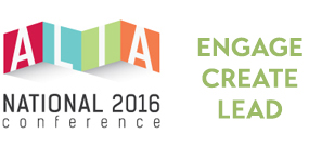 ALIA National Conference 2016 logo