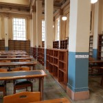 Shelving in the Reading Room