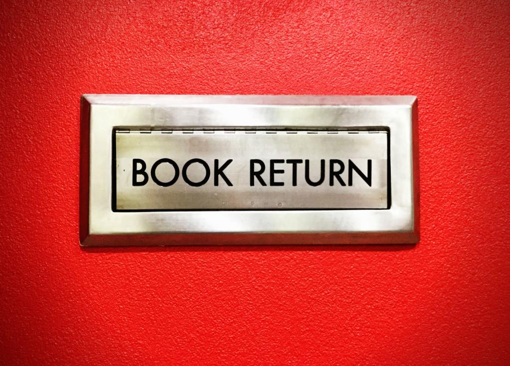 book returns blog
