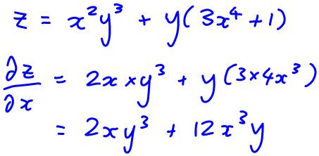 partial derivatives part 2