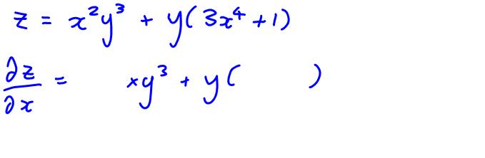 partial derivatives part 1