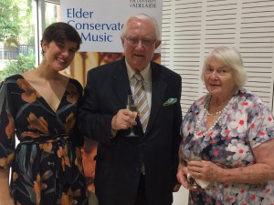 2018 Elder Prize Ceremony - Christopher & Wendy Moten with Anna Freer