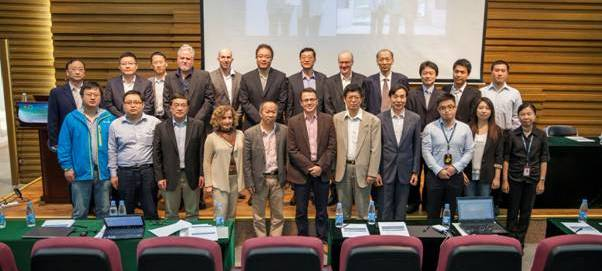 Participants in the China-Australia Musculoskeletal alliance talks