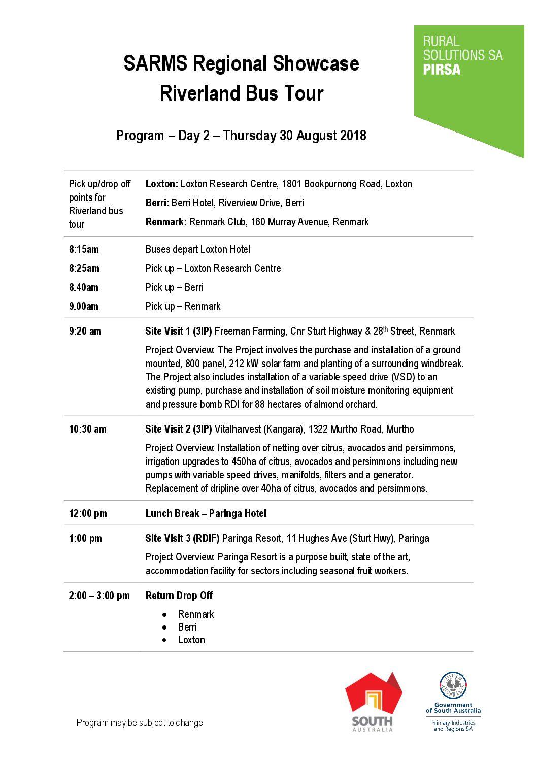 Sarms Australia Forum 2018