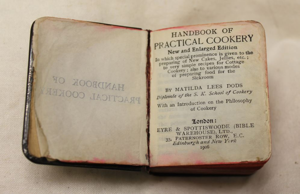 Handbook Of Practical Cookery New And Enlarged Edition By Matilda