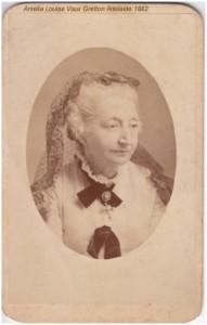 Amelia Gretton Adelaide 1882