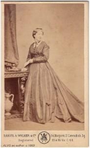 Amelia Gretton, London 1863