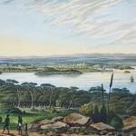 Distant view of Sydney
