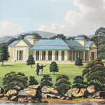 View of Captain Piper's naval villa, New South Wales