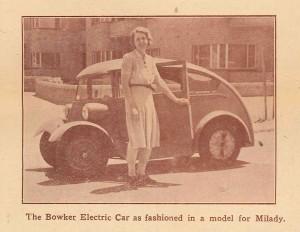 Bowker Electric Car
