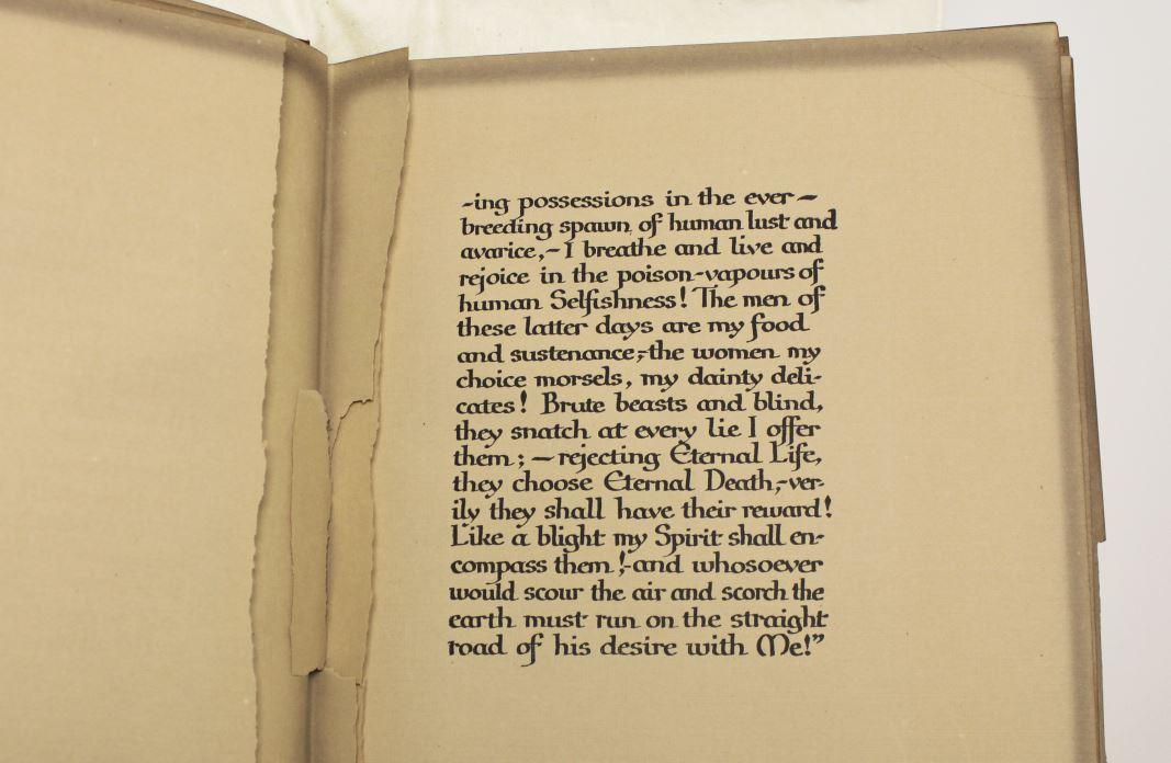 The Devil's motor: A fantasy  Marie Corelli  c1911 - Rare Books