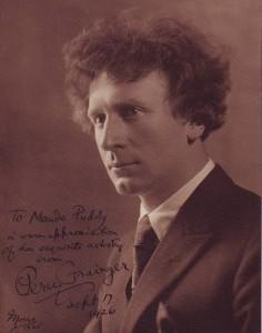 Percy Grainger and Adelaide - Archival Allsorts
