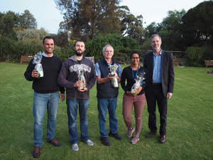 Bocce tournament winners! The Fertiliser Mafia successfully defended their title.